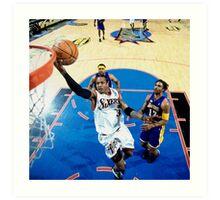 Allen Iverson Philadelphia 76ers Art Print