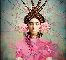 Portrait in Pastell by Catrin Welz-Stein