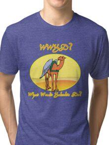 What Would Kaboobie Do? Tri-blend T-Shirt