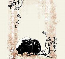 honey badger valentine by Marie Magnusson