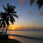St Lucia Sunset by John Dalkin