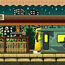 Flinders St Station (Melbourne Series) by StudioStobie