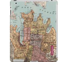 City of Sydney map iPad Case/Skin