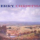 Merry Christmas Logan River  by Lyn Green