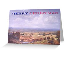 Merry Christmas Logan River  Greeting Card