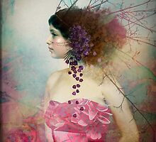 Portrait in Pastell 2 by Catrin Welz-Stein