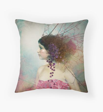 Portrait in Pastell 2 Throw Pillow