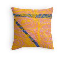 Psychedelia Melbourne Street Art styley Throw Pillow