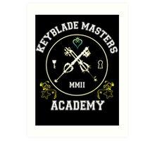 Keyblade Masters Academy Art Print