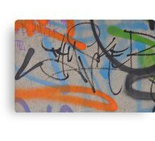Street art 2011: Specially chosen for the Cocoa Jackson X-mas folio Canvas Print