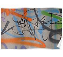 Street art 2011: Specially chosen for the Cocoa Jackson X-mas folio Poster