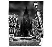 Gates of St Pauls Poster