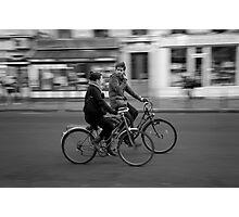 Paris and bicycles 1 Photographic Print