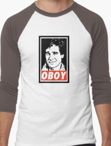Obeying the Quantum Leap Men's Baseball ¾ T-Shirt
