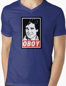 Obeying the Quantum Leap Mens V-Neck T-Shirt