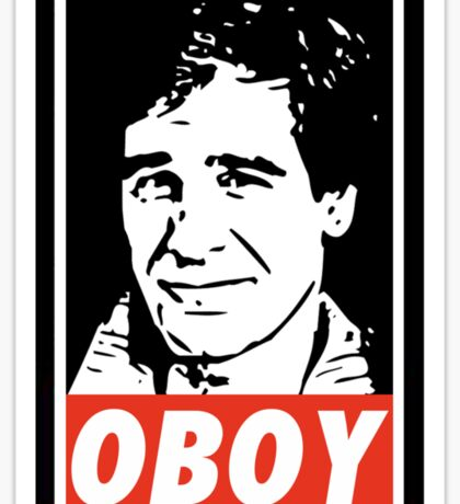 Obeying the Quantum Leap Sticker