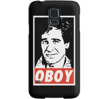 Obeying the Quantum Leap Samsung Galaxy Case/Skin