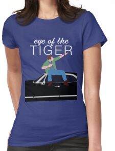 Supernatural - Eye of the Tiger Womens Fitted T-Shirt