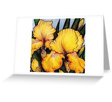 Yellow Beards Greeting Card