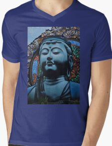 Buddha Mens V-Neck T-Shirt