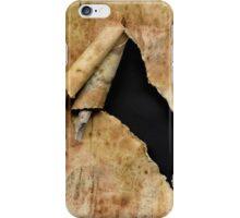 Torn paper iPhone case iPhone Case/Skin