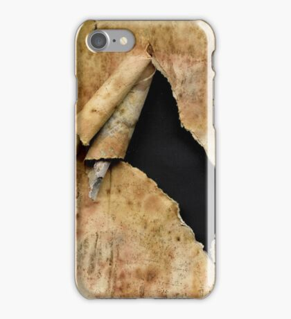 Torn paper iPhone case iPhone Case/Skin