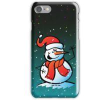 Singing Snowman iPhone Case/Skin