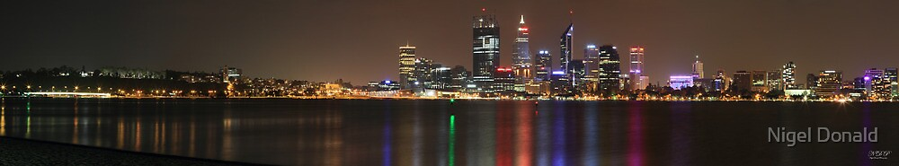Perth Panorama 2 by Nigel Donald