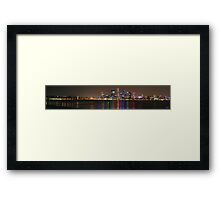 Perth Panorama 2 Framed Print