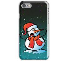 Snowman Shouting iPhone Case/Skin