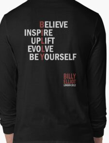 Billy Elliot The Musical Live Logo  Long Sleeve T-Shirt