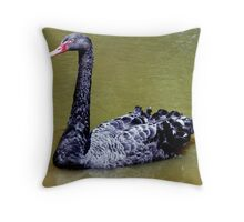 Black Swan Throw Pillow