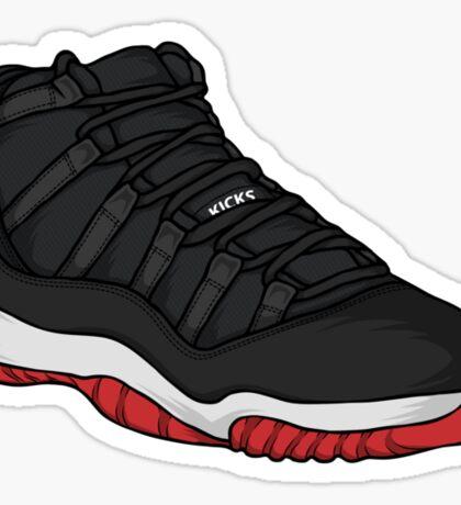 Shoes Breds (Kicks) Sticker