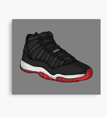 Shoes Breds (Kicks) Canvas Print