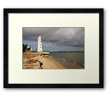 Lynde Point Lighthouse, Connecticut Framed Print