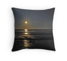 Sunrise Over the Atlantic Throw Pillow