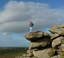 Man V Nature.....Helman Tor, Cornwall. by greenstone