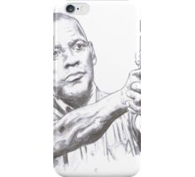 Denzel Washington Equalizes with a Hi. iPhone Case/Skin