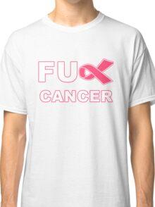Fu** Cancer - Pink Classic T-Shirt