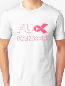 Fu** Cancer - Pink Unisex T-Shirt