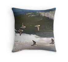 Wave Sailing Throw Pillow