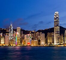 Victoria Harbor, Kowloon by samnahata