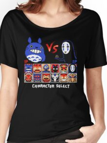 Totoro Game  Women's Relaxed Fit T-Shirt