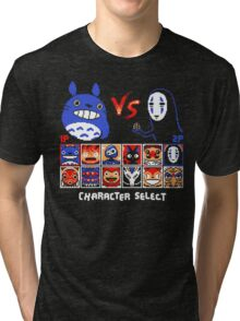 Totoro Game  Tri-blend T-Shirt