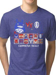 Totoro Game  Tri-blend T-Shirt