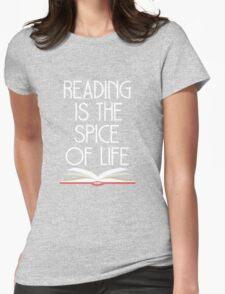 Reading is the Spice of Life T-Shirt