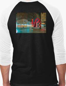 LOVE New York City  Men's Baseball ¾ T-Shirt