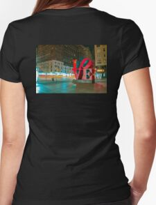 LOVE New York City  Womens Fitted T-Shirt