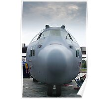AFRC 89-9106 C-130H Hercules Nose Shot Poster