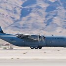 RS AF 07 8614 C-130J Super Hercules Landing  by Henry Plumley